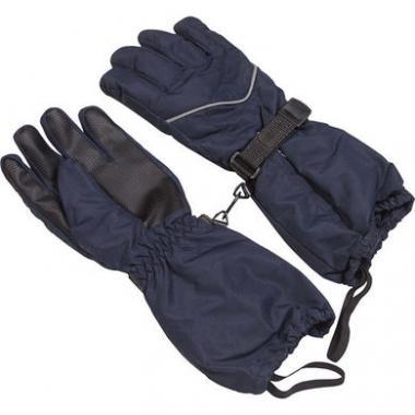 Перчатки-краги GLOBAL для мальчика (синий), 5-10 лет