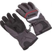Перчатки комбинированные GLOBAL для мальчика (серый), 2-7 лет