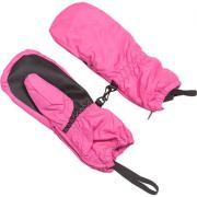 Варежки GLOBAL для девочки на тинсулейте (розовый), 3-6 лет