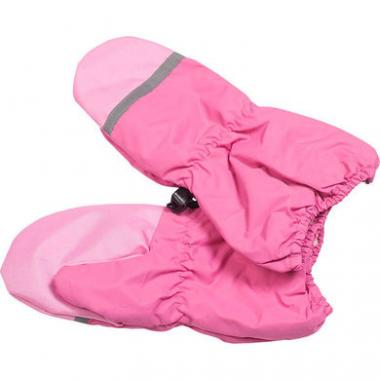 Варежки-краги GLOBAL для девочки на меху (розовый), 2-7 лет