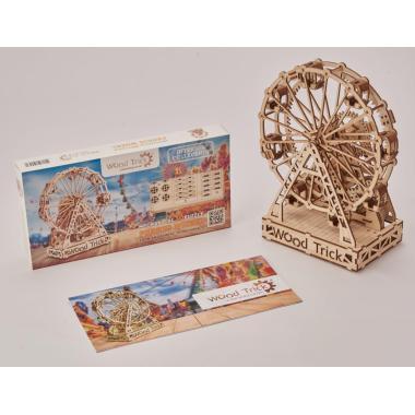 Механическая сборная модель Wood Trick Механическое колесо обозрения