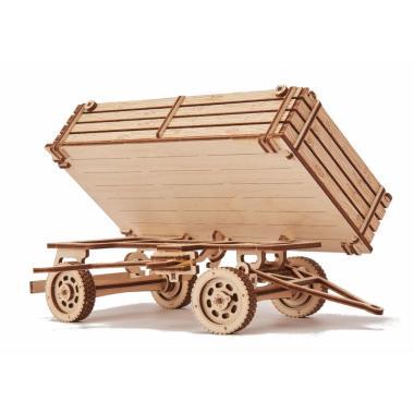Механическая сборная модель Wood Trick Прицепы для трактора