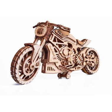 Механическая сборная модель Wood Trick Мотоцикл DMS