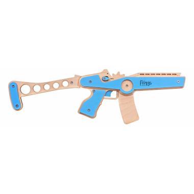 Резинкострел в сборе ARMA Автомат (синий)
