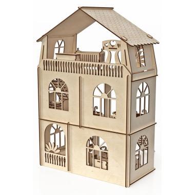 """Конструктор-кукольный домик ХэппиДом """"Коттедж с мебелью Premium"""""""