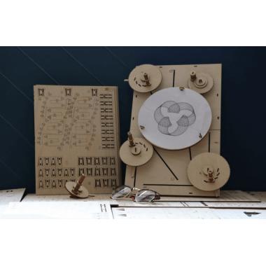Конструктор Машина для рисования UNIGRAPH