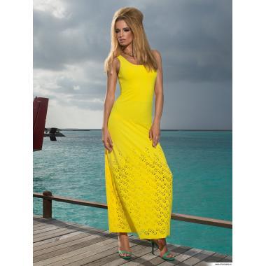 Платье пляжное WQ 041607 LG Belinda