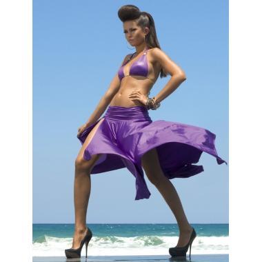 Юбка пляжная WU051217 LG Alize (фиолетовый)