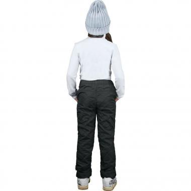 Брюки на флисе BOOM! by Orby для девочки (черный), 1,5 года-13 лет