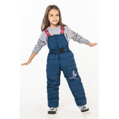 Зимний полукомбинезон Boom by Orby для девочки (синий), 2-8 лет