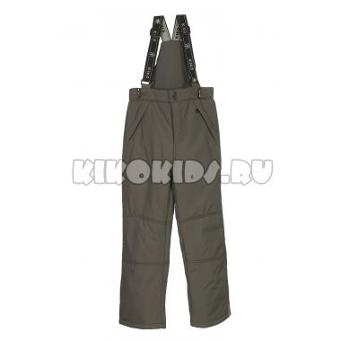 Зимние брюки на тинсулейте Kiko (темно-серый), 9-14 лет