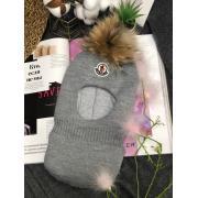 Зимняя шапка-шлем для мальчика (серый), 2-5 лет