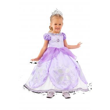 """Детский карнавальный костюм """"Принцесса Софи"""", 3-8 лет"""