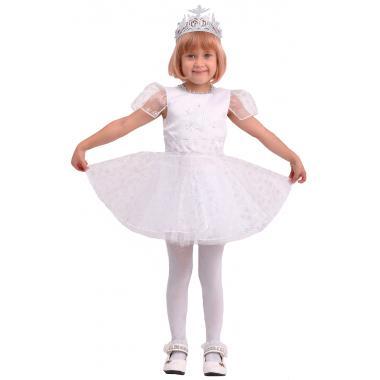 """Детский карнавальный костюм """"Снежинка Снежка"""", 4-8 лет"""