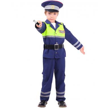 """Детский карнавальный костюм """"Инспектор ДПС"""", 5-9 лет"""