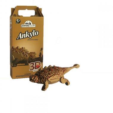 3D-ПАЗЛ «Анкилозавр». Возраст: 5+
