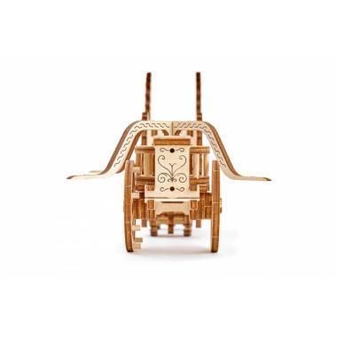 3D-пазл механический Wooden.City Колесница Да Винчи