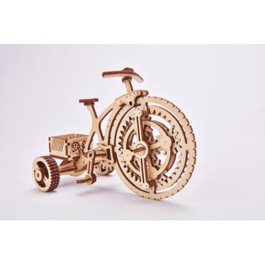 Механический 3D-пазл из дерева Wood Trick Велосипед-визитница