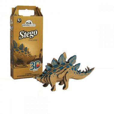 3D-ПАЗЛ «Стегозавр». Возраст: 5+