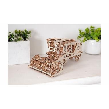 3D-пазл механический UGears - Комбайн