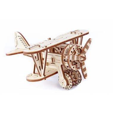 3D-пазл механический Wooden.City Самолет Биплан