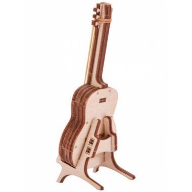 3D-пазл из дерева Wood Trick Вудик Гитара