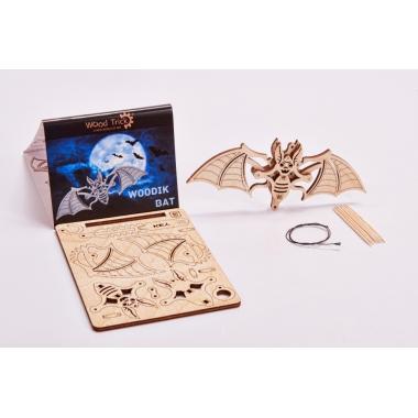3D-пазл из дерева Wood Trick Вудик Летучая Мышь