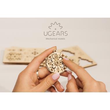 3D-пазл механический UGears - Фиджет Новогодняя магия