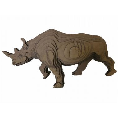 3D-ПАЗЛ «Носорог». Возраст: 5+