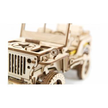 3D-пазл механический Wooden.City Полноприводный автомобиль 4х4