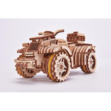 Механический 3D-пазл из дерева Wood Trick Квадроцикл