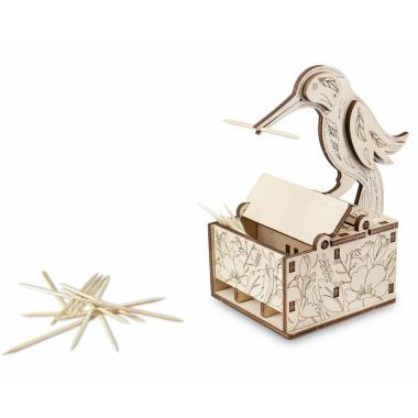 Деревянный интерьерный конструктор 3D EWA Design Птичка