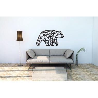 Деревянный интерьерный пазл EWA Design Медведь