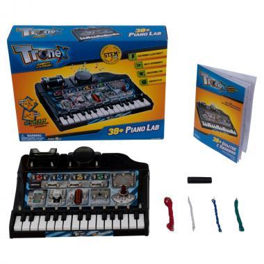 Набор Tronex: 38 музыкальных экспериментов с пианино. Электронный конструктор