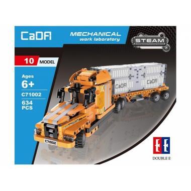 Конструктор CADA STEAM 10 в 1 механическая лаборатория - порт (634 детали)
