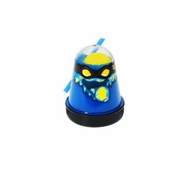 "Тянущийся слайм Slime ""Ninja"", Смешивай цвета 2 в 1, Синий, Желтый, 130 гр"