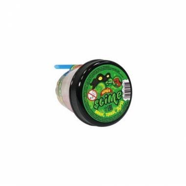 """Тянущийся слайм Slime """"Ninja"""", Затерянный мир с фигуркой Динозавра, 130 гр"""