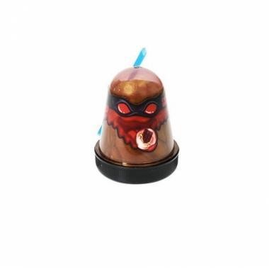 "Тянущийся слайм Slime ""Ninja"", аромат шоколада, 130 гр"