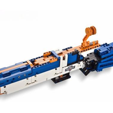 Конструктор Cada Technics, винтовка М1, 583 деталей, стреляет пульками - C81002W