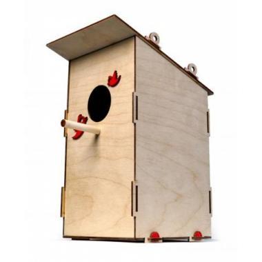 Конструктор 3D деревянный Lemmo Скворечник