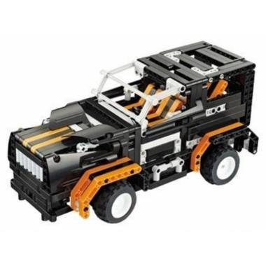 Конструктор QIHUI с мотором и радиоуправлением Black Hums 509 элементов