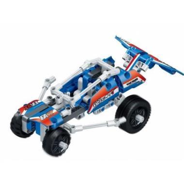 """3D-Конструктор SDL KID-CONSTRUCT """"Кроссовер синий, 159 деталей"""""""