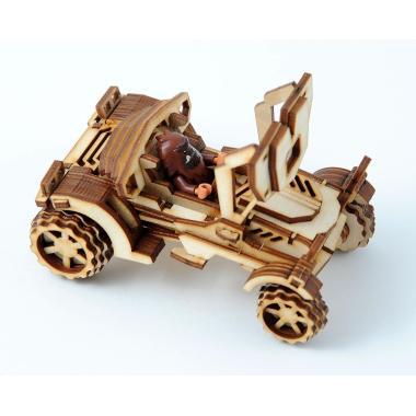 Конструктор 3D деревянный подвижный Lemmo Внедорожник Скорпион