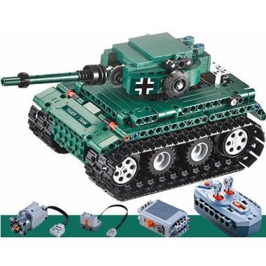 Конструктор Cada Technics, Танк Tiger 1, 313 деталей, пульт управления - C51018W