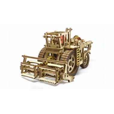 Конструктор 3D деревянный M-WOOD Комбайн HARDY