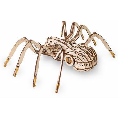 Конструктор деревянный 3D EWA SPIDER (Паук)