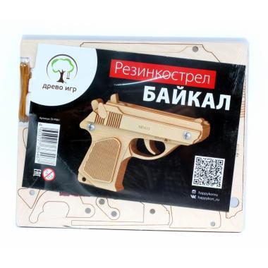 Конструктор-пистолет Древо Игр Резинкострел Байкал