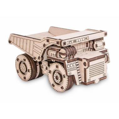 Конструктор деревянный 3D EWA BELAZ MINI