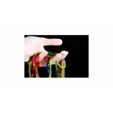 """Серия Лучшие эксперименты """"Делаем цветных червяков. Красный"""""""
