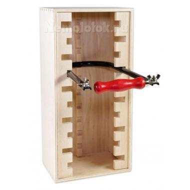 Деревянная подставка для 10 лобзиков Pebaro (ST10)